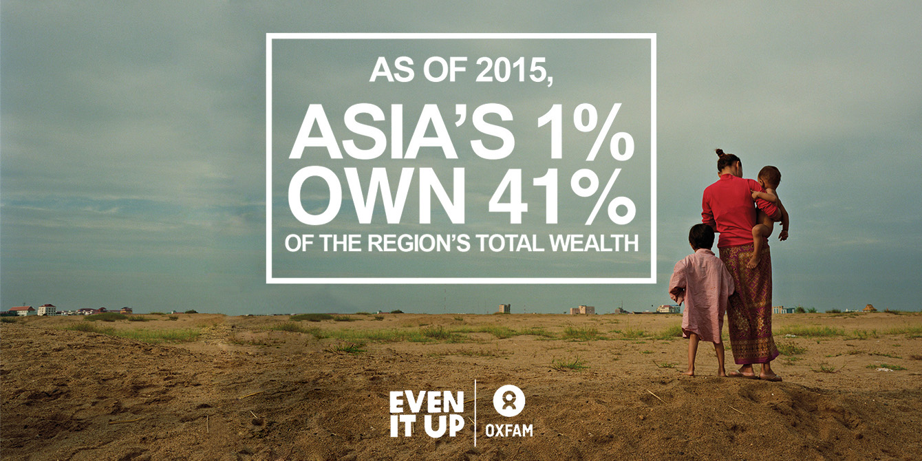 Even It Up Campaign in Asia