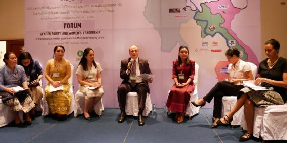 Regional Forum For Gender Equity And Women's Leadership In Water Resource Management Of The Mekong   Water Governance